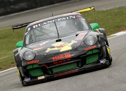 HARIBO RACING TEAM holt in Monza Podestplatz