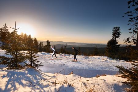 Schnee Sicher Im Schneesichersten Langlaufgebiet Bodenmais