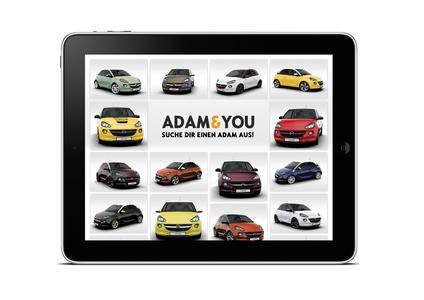Best of the Best: Red Dot Award für die Opel-App ADAM&YOU © GM Company