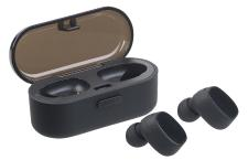 auvisio True Wireless In-Ear-Stereo-Headset, Bluetooth 4.2 (20 m), Lade-Etui
