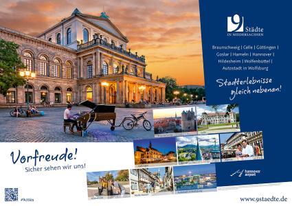 Sicher sehen wir uns! - Niedersächsische Städte-kooperation weckt Vorfreude auf kulturelle Stadterlebnisse