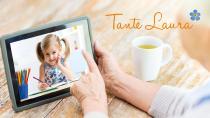 Bilder von Enkeln machen einsamen Senioren besondere Freude