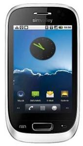 """simvalley MOBILE Dual-SIM-Smartphone mit Android 2.2 """"SP-60 GPS"""" WHITE"""