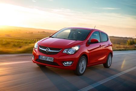 Viel Auto für wenig Geld: Der fünftürige Opel KARL mit Platz für bis zu fünf Personen wird in Genf seine Weltpremiere feiern © GM Company