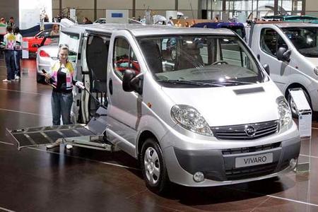 AMI Leipzig: Premiere für rollstuhltauglichen Opel Vivaro