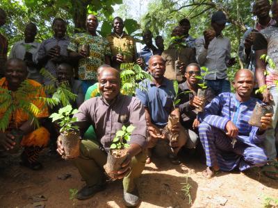 2: Eine klimaintelligente Landwirtschaft stärkt die Resilienz der Kleinbauern