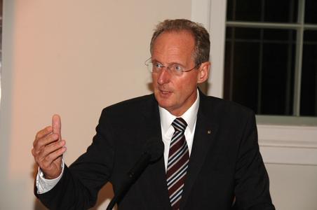 Der Stuttgarter Oberbürgermeister Dr. Wolfgang Schuster