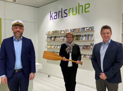 Volle Kraft voraus für die Tourismusdestination Karlsruhe: André Lomsky übernimmt das Ruder der KTG Karlsruhe Tourismus GmbH