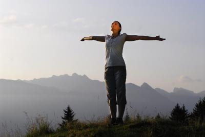 Sonnenaufgang am Weiherkopf - Freiheit pur