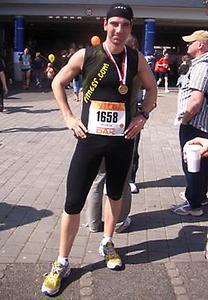 Matthias Giese in Mainz beim Gutenberg-Marathon