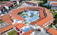 Die Limes-Therme zählt heute mit 10.000 Quadratmetern Gesamtfläche zu den größten Kur- und Erholungsbädern Bayerns und lässt für Gesundheitsbewusste sowie Wellnessbegeisterte keine Wünsche offen / Foto: Limes-Therme | DLU Brunswig