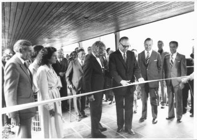 Eröffnung Hans Erni Museum, 1979