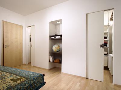 Schiebetur Als Platzsparer Ideal Fur Kleine Raume Und Zum