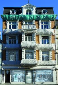 Das Gebäude im Herzen der Hansestadt Rostock, wo der FASHION.ZONE Store Einzug halten wird