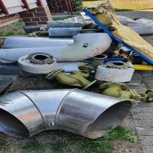 Metall entsorgen in Wesel