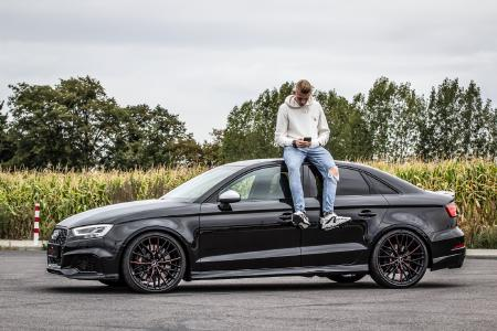 Race driver's daily: Audi RS 3 limousine on Barracuda Ultralight Project 3.0