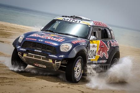 1 2015 Sealine Cross Country Rally Qatar, Nasser Al Attiyah (QAT), Mathieu Baumel (FRA)   MINI ALL4 Racing 204 Qatar Rally Team   24.04.2015