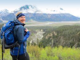 In Yukon wandern Outdoorfans fernab der Zivilisation (Foto Sheep Creek Trail im Kluane-Nationalpark)
