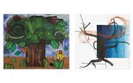 Carroll Dunham / Albert Oehlen. Bäume / Trees