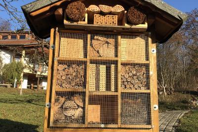 Insektenhotel der Naturschutz-Akademie Hessen in Wetzlar / Foto: Ann-Katrin Müller, Untere Naturschutzbehörde