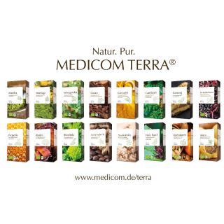 MEDICOM TERRA® Naturlinie von Medicom. Pflanzenkraft: Quelle für Wohlbefinden