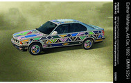 Esther Mahlangus BMW Art Car im Museum of Arts and Design in New York