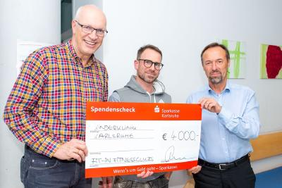 4.000 Euro aus Charity-Aktion gespendet