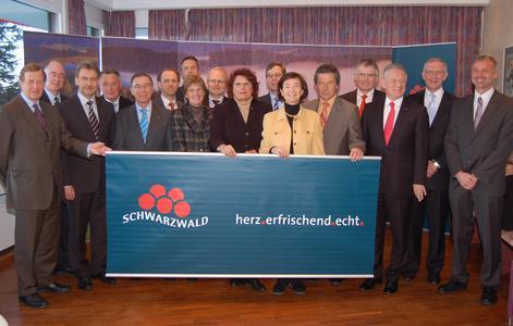 Land und Stadtkreise für die Dachmarke Schwarzwald