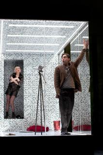 Unterwerfung: Stella Goritzki, Hannes Rittig, Foto: Thomas Braun