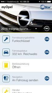 Angenehm: Mit dem persönlichen Online- und Service-Assistenten Opel OnStar und der myOpel-App können Opel-Fahrer ihr Onboard-Navigationssystem ganz einfach per Fernbedienung programmieren, ohne dabei im Auto zu sitzen