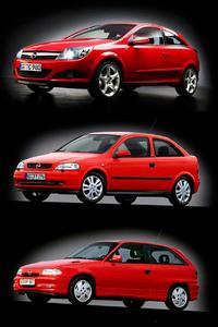 Bereits 10 Millionen produziert: Drei Generationen Opel Astra seit 1991