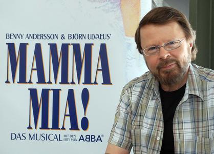 Porträt Björn Ulvaeus