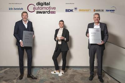 """Die Beresa-Gruppe wird mit dem """"Digital Automotive Award 2020"""" ausgezeichnet, (Quelle: Stefan Bausewein)"""