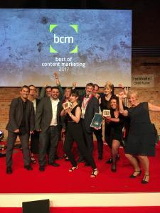 Acht Auszeichnungen: wdv-Gruppe überzeugt mit innovativen Medien beim Best-of-Content-Marketing-Award 2017