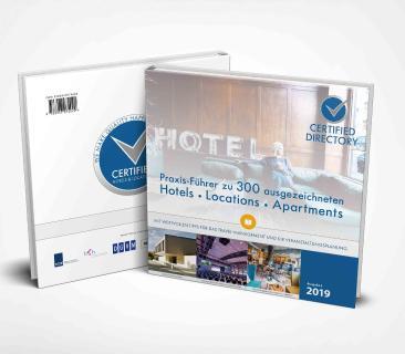 Jetzt kostenlos bestellen: Nachschlagewerk mit 300 yertifizierten Top-Hotels