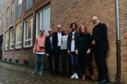 CLOSEUP Bremen Koordinatoren und Jury (v.l.n.r.): Fynn Kliemann (YouTuber), Thomas Schäffer (nordmedia), Helge Haas (Radio Bremen), Anette Unger (Produzentin), Manuel Möglich (sendefähig), Eva Koball (bremen digitalmedia), Kai Stührenberg (Referatsleiter Digitalisierung)