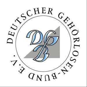 Logo Deutscher Gehörlosenbund e. V.