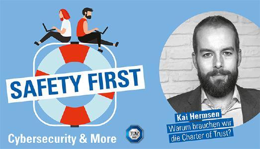 "TÜV SÜD-Podcast ""Safety First"": Zwei Jahre Charter of Trust"