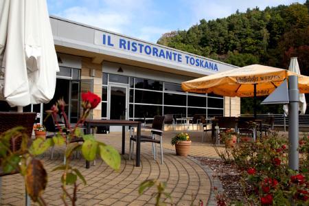 Il Ristorante in der Toskana Therme / Foto: Andrea Ludwig