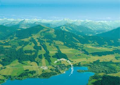 Camping-Grüntensee-International, im Herzen des Allgäus und der grandiosen Oberallgäuer Berge