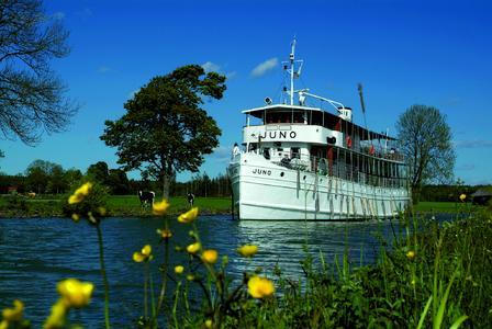 Die MS Juno auf dem Göta Kanal © Mike Louagie/mediabank.stromma.se