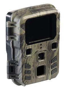 VisorTech Full-HD-Wildkamera WK-430.mini mit PIR-Sensor, Nachtsicht, 6 Monate Stand-by, IPX5