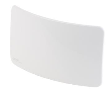 ZX 2828 2 auvisio Aktive Curved Zimmerantenne fuer DVB TT2 +40 dB LTE Filter
