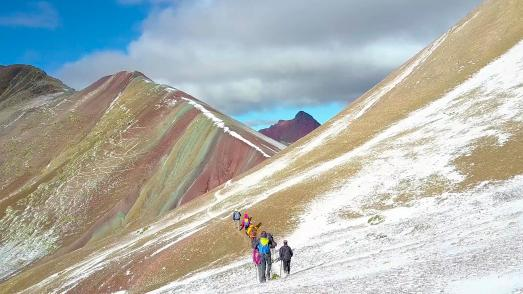 Rainbow Mountains Peru / © Andean Lodges