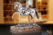 Angeles Anglada 299P - Silbernes Pferd