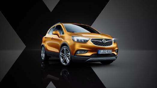 X-Faktor: Der Opel MOKKA X macht auf den ersten Blick eine beeindruckende Figur