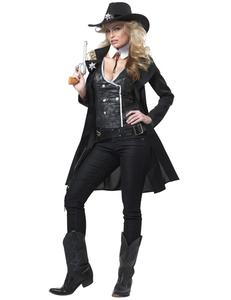 Karnevalskostüme Klassiker - Cowgirl Sheriff