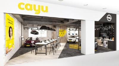 So wird der Autokauf zum Lifestyle-Erlebnis: Am 1. September öffnet der erste CAYU-Store im Stuttgarter Einkaufszentrum Milaneo. Hier lässt sich das Opel-Modell offline oder online bestellen.