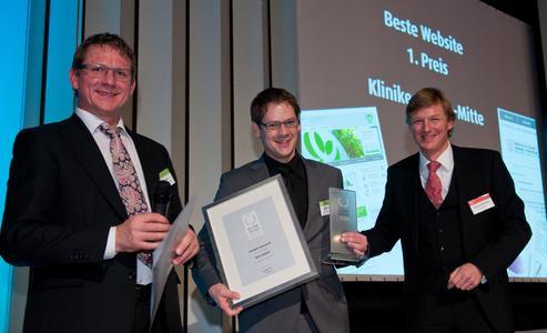 Björn Kasper bei der Verleihung des Rotthaus-Awards