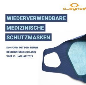 wiederverwendbare medizinische Schutzmasken o-range CARE